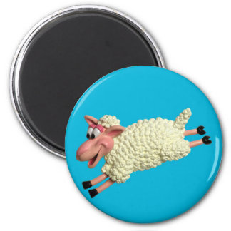 Silly Sheep Refrigerator Magnets