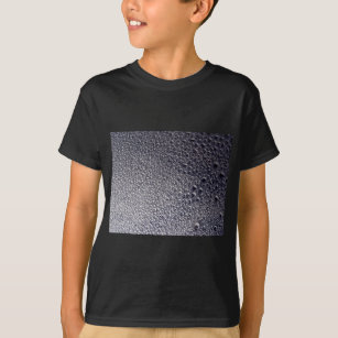 8c043bb96ee1 Silver and Black 3d Water Droplet Spray Paint Art T-Shirt