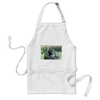 Silver Back Gorilla Standard Apron