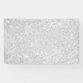 Silver Diamond Style Banner