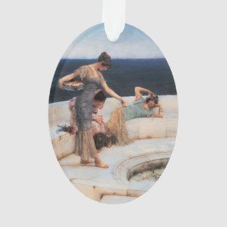 Silver Favorites by Lawrence Alma-Tadema Ornament