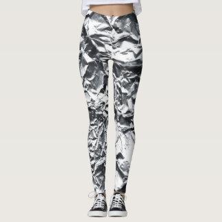 Silver Foil #1 Leggings