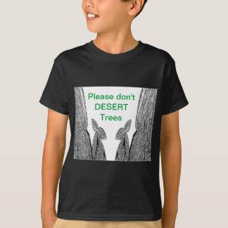 SILVER foil Cactus  -  Green Theme T-Shirt
