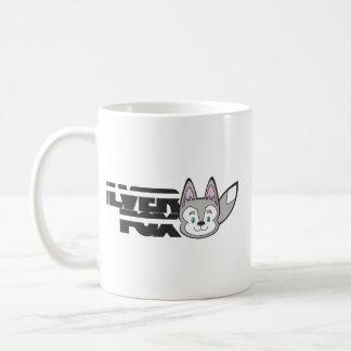 Silver fox logo coffee mug