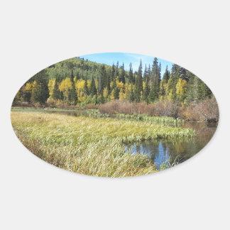 Silver Lake -Brighton, Utah Oval Sticker