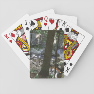 Silver Lake Hiking Lake Dunmore Vermont Playing Cards