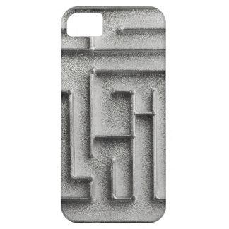 Silver maze iPhone 5 case
