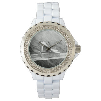 Silver Prada shoes 2015 Watch