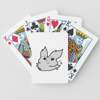 Silver Rabbit Bicycle Playing Cards