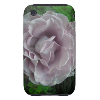 Silver Rose Tough iPhone 3 Covers