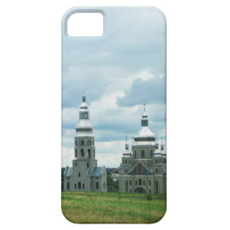 Silver Ukrainian Churches iPhone 5 Cover
