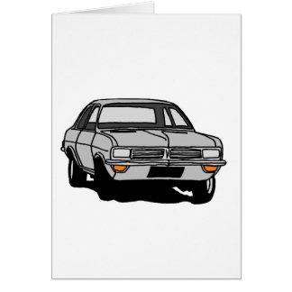 Silver Vauxhall Viva Card