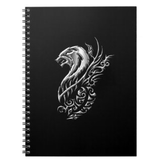 Silver Wolf Photo Notebook