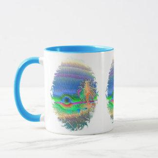 Silverlake Sunset Negative Oval Mug