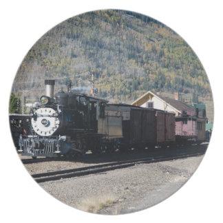 Silverton Train Plate