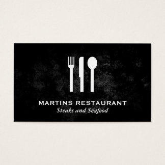 Silverware Business Card