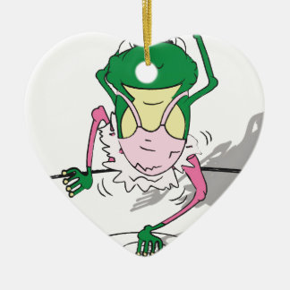 Simon's know to do a ballet twirl or two. christmas ornament