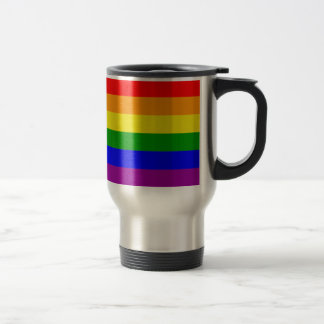 Simple and Classic Rainbow flag Mugs