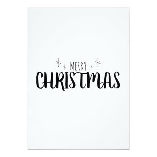 Simple and Elegant Christmas Card
