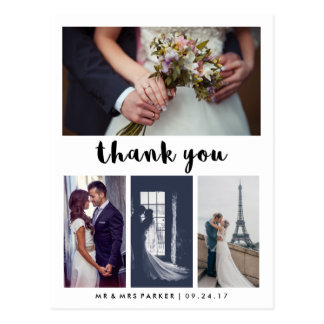 Wedding Thank You Cards from Zazzle