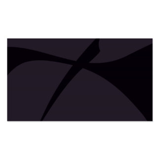 Simple Black Abstract Art Business Card Templates