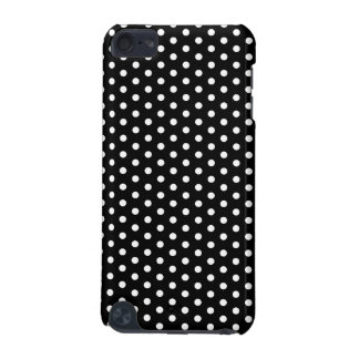 Simple Black and White Polka Dot Basic Pattern iPod Touch (5th Generation) Case