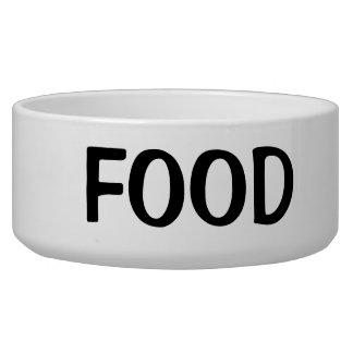 Simple Black Food Text