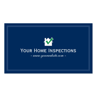 Home inspection business plan