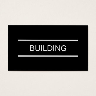 Simple Builder Business Cards