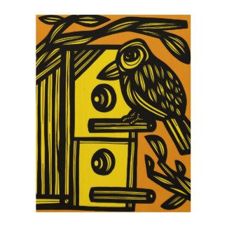 Simple Charming Lucky Philosophical Wood Wall Decor