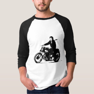 Simple Classic Vintage Motorcycle T-Shirt