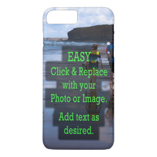 Simple Click and Replace Image to Make Your Own iPhone 8 Plus/7 Plus Case