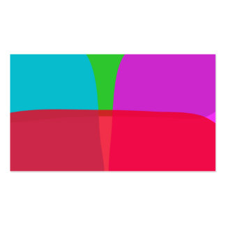 Simple Colors Abstract Art Business Card Templates