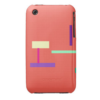 Simple Coral iPhone 3 Case-Mate Cases