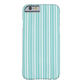 Simple elegant white blue iPhone 6 case Barely There iPhone 6 Case