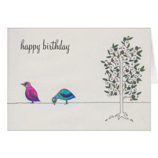 simple happy birthday greeting cards