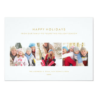 SIMPLE HOLIDAY | HOLIDAY PHOTO CARD