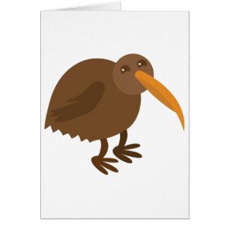 Simple KIWI Bird Card