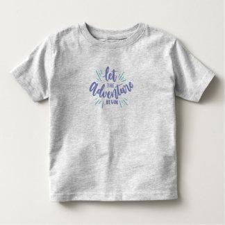 Simple Let the Adventure Begin | Shirt