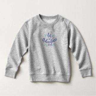 Simple Let the Adventure Begin | Sweatshirt
