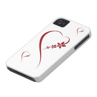 Simple Love iPhone 4 case