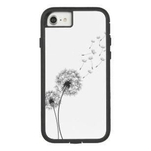 Simple Minimalist Blowing Dandelion   Phone Case