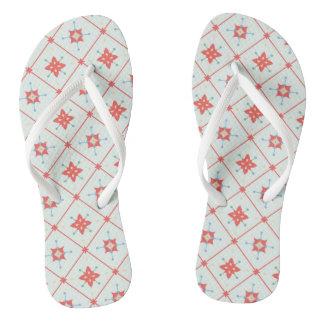 Simple pattern flip flops for everyday wear