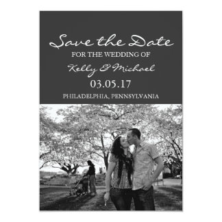Simple Photo Save the Date Card