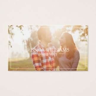 Simple Photography Business Cards