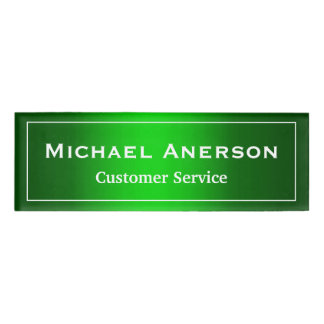 Simple Plain Green Cool Gradient Personalized