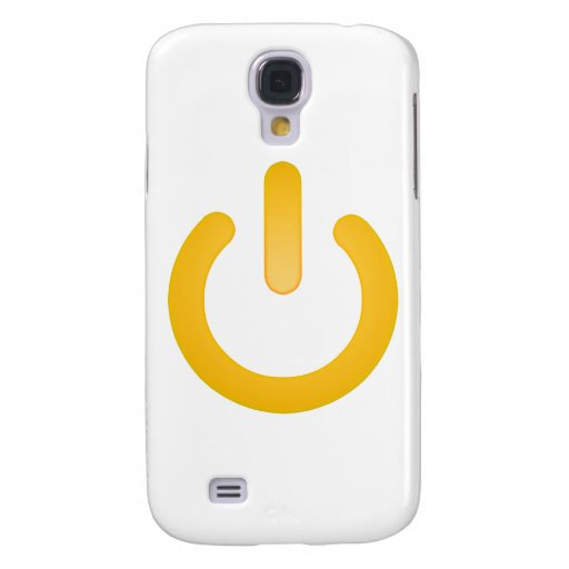 Simple Power Button Samsung Galaxy S4 Cases