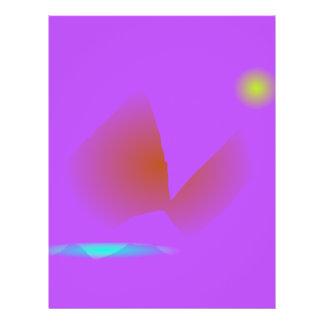 Simple Purple Music 21.5 Cm X 28 Cm Flyer