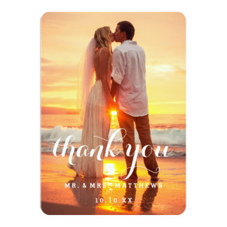 Browse Zazzle Wedding Thank You invitation templates and customise with your own text, photos or designs.
