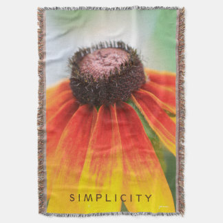 Simplicity Wildflower Orange Yellow Custom